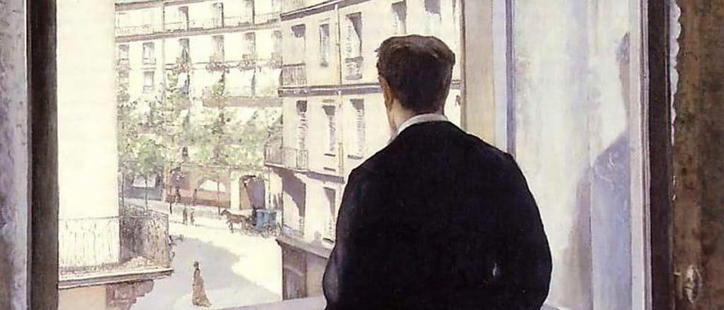 Giovane alla finestra