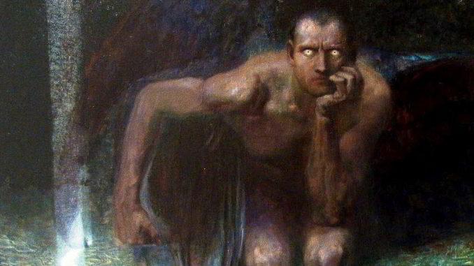 Lucifero visto da Franz von Stuck